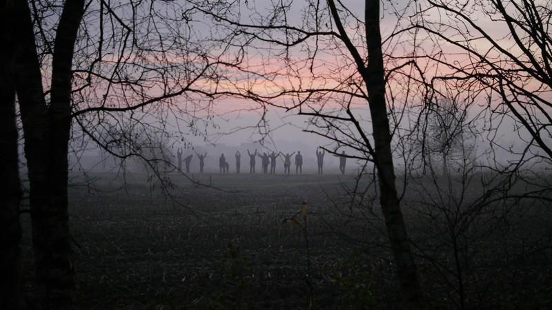 Ein schönes Foto von Teilnehmer (c) Klaus Wistal vom Morgengang bei ...